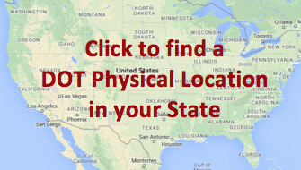 find DOT physical location